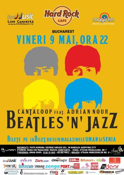 Adrian Nour & Cantaloop - Tribut Beatles la Hard Rock Cafe