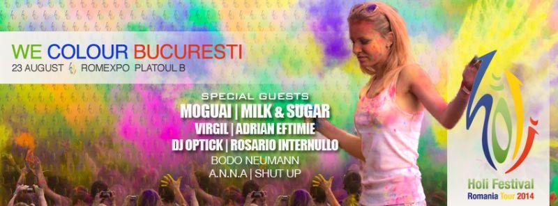 Holi Festival România Tour - București