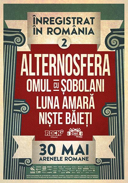 Inregistrat in Romania Arenele Romane 30 mai 2014