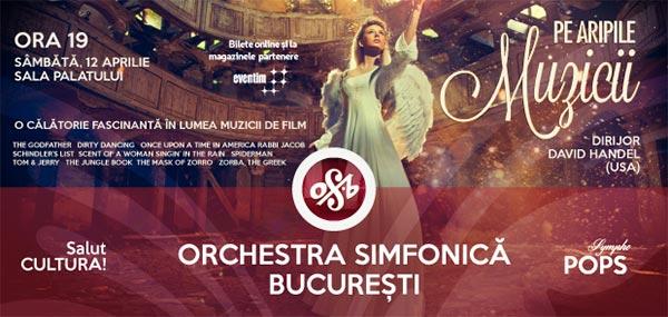 Orchestra Simfonică București - Pe aripile muzicii