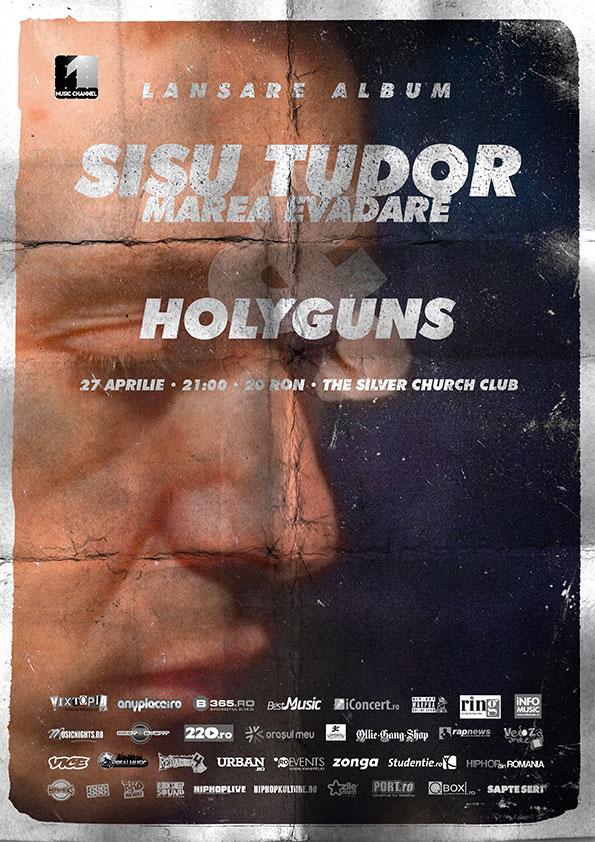 """Sișu Tudor - Lansare """"Marea Evadare"""""""