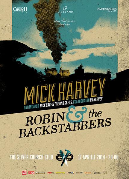 Mick Harvey și Robin and the Backstabbers la The Silver Church