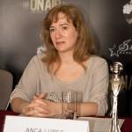 Anca Lupeș în cadrul conferinței de presă On Air Music Awards 2014 pe 8 aprilie la Intercontinental