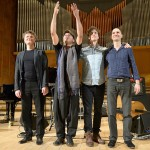 Dhafer Youssef în concert la Sala Radio pe 10 aprilie 2014, alături de Kristjan Randalu, Phil Donkin și Ferenc Nemeth.