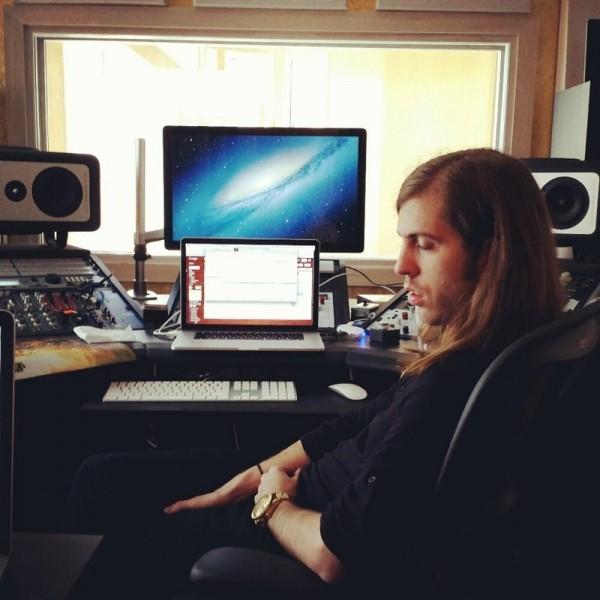 Imagine Dragons în studioul de înregistrări