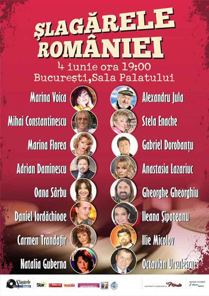 ANULAT - Slagarele Romaniei
