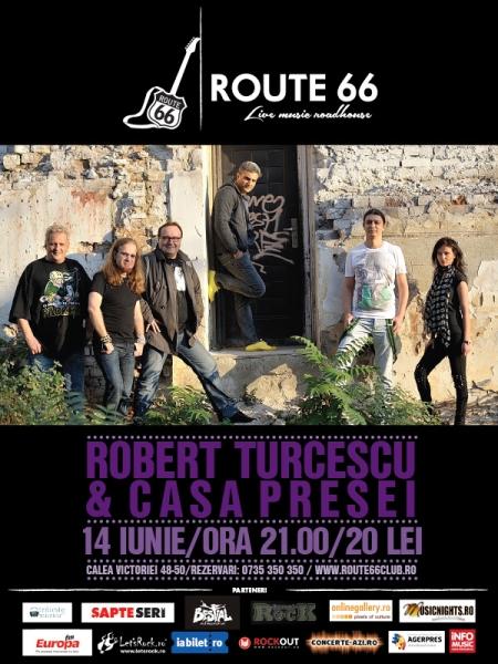 Robert Turcescu și Casa Presei