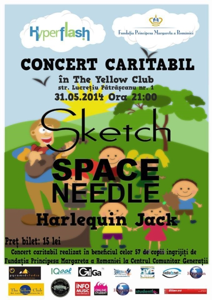 Sketch și Space Needle - Concert Caritabil