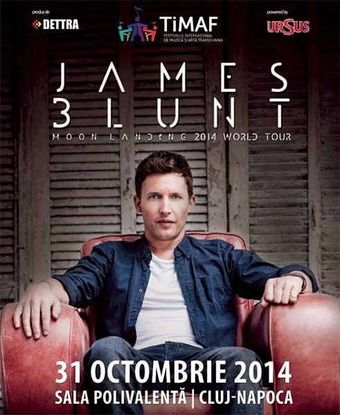 James Blunt la BT Arena (Sala Polivalentă) Cluj-Napoca