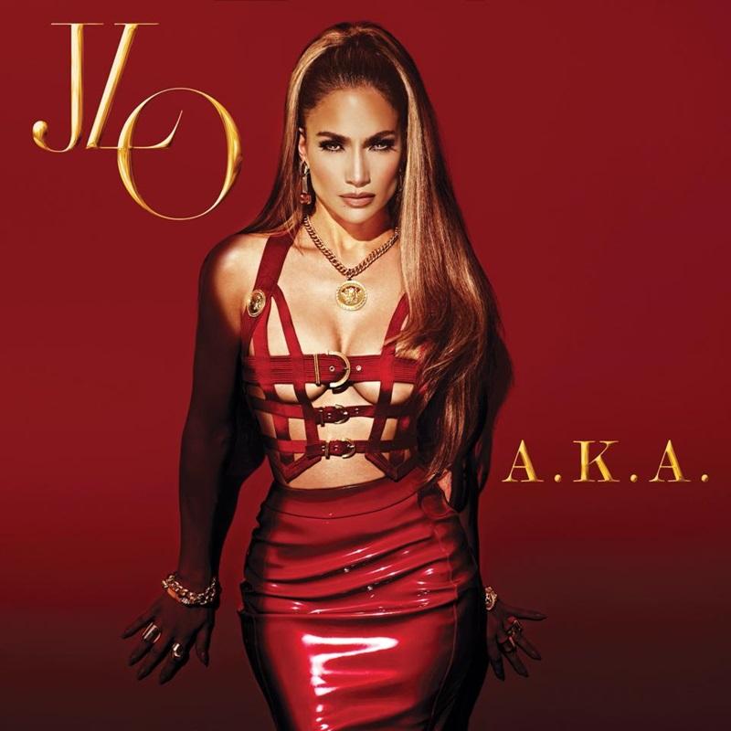 "Coperta noului album Jennifer Lopez - ""A.K.A."""