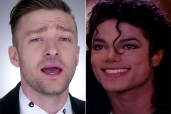 "Michael Jackson și Justin Timberlake - ""Love Never felt So Good"" (secvență videoclip)"
