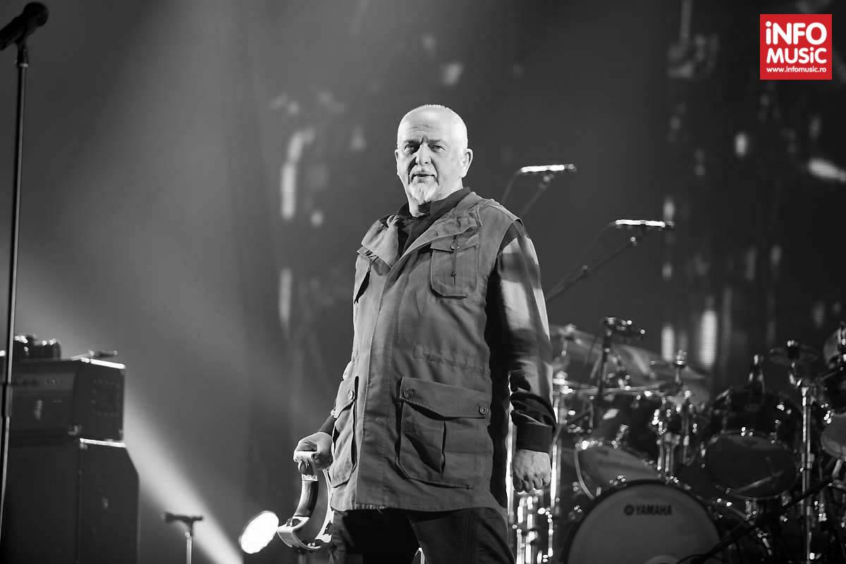 Peter Gabriel la București