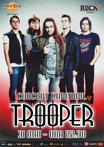 Trooper - Concert Caritabil