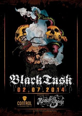 Black Tusk la Club Control