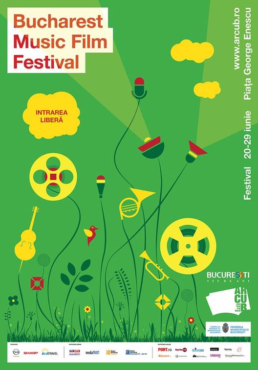 Bucharest Music Film Festival 2014 la Piața George Enescu