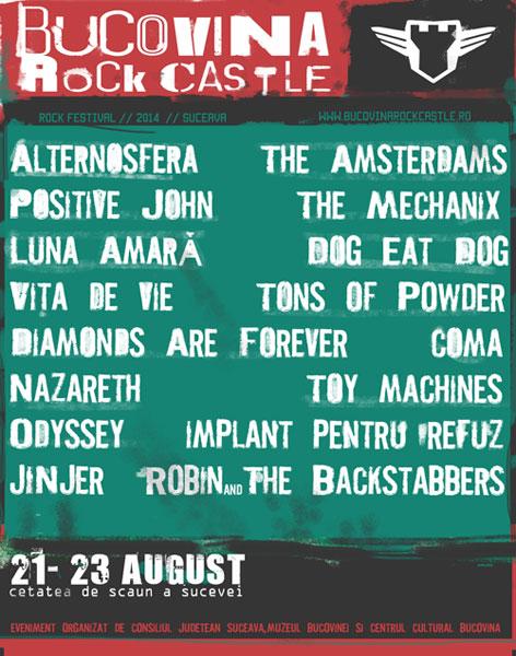 Bucovina Rock Castle 2014