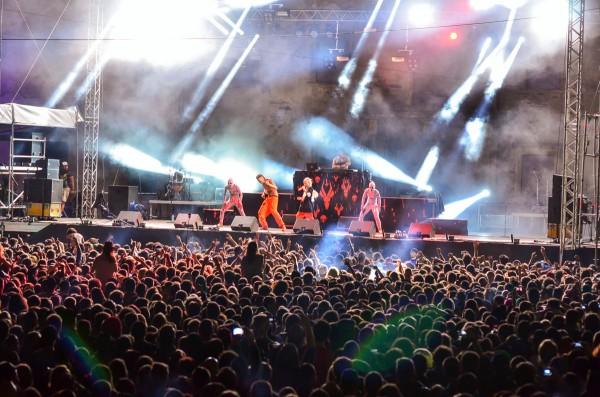 Die Antwoord la Electric Castle 2014