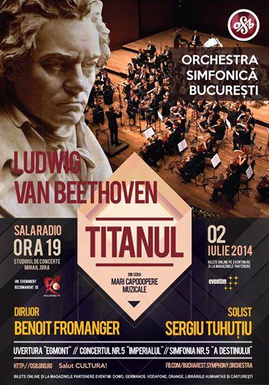 Orchestra Simfonică București - Titanul la Sala Radio