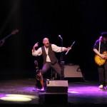 Ian Anderson în cocnertul Jethro Tull pe 20 iunei 2014