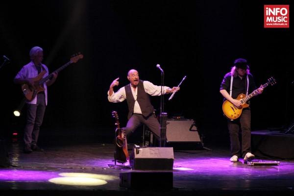 Ian Anderson în concertul Jethro Tull pe 20 iunie 2014