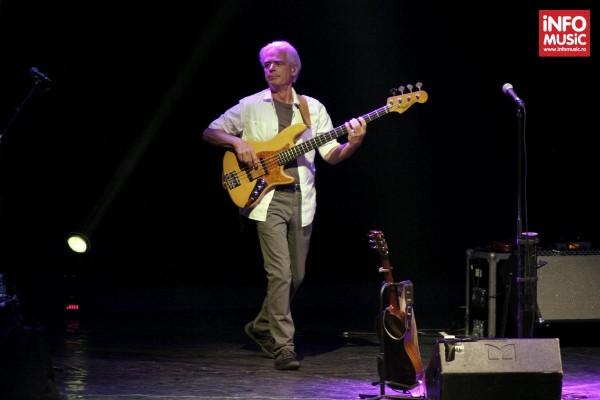 David Goodier / Jethro Tull la Bucuresti pe 20 iunie 2014
