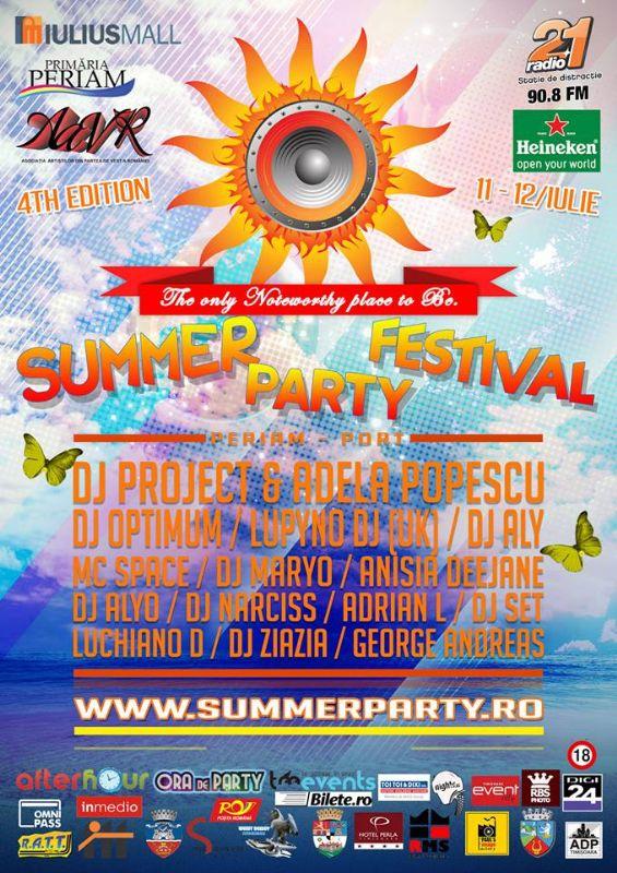 Summer Party Festival 2014 la Periam Port