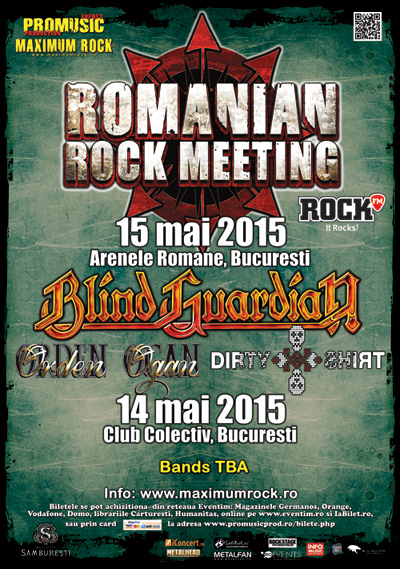 Romanian Rock Meeting 2015 la Arenele Romane