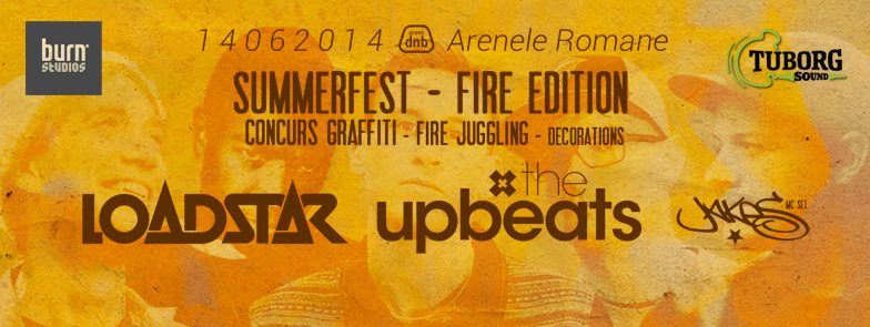 arena dnb summerfest 2014: LOADSTAR + THE UPBEATS + MC JAKES