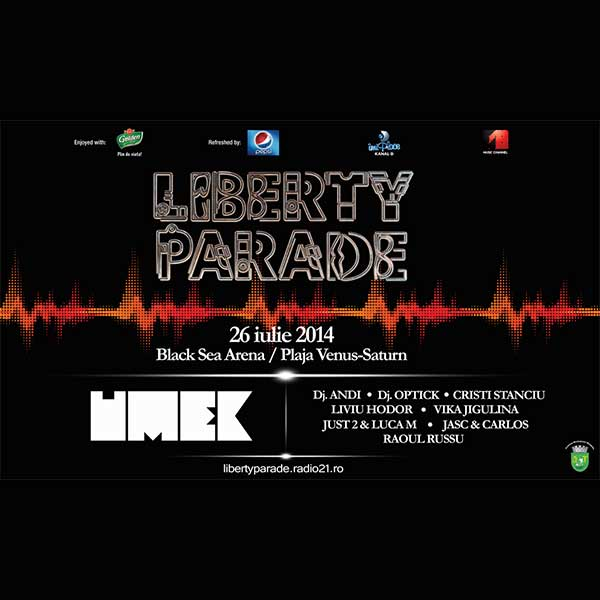 Liberty Parade 2014 la Plaja dintre Venus și Saturn