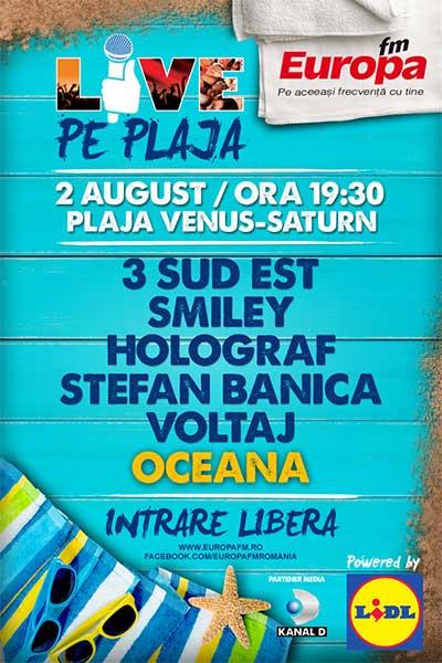 Europa FM Live pe Plajă