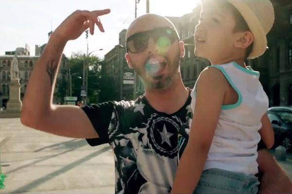 """Cabron și Voltaj - """"Vocea ta"""" (secvență videoclip)"""