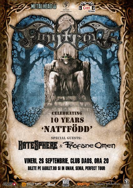 Finntroll, HateSphere si Profane Omen la Daos Club