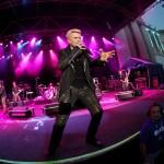 Billy Idol in concert la Aenele Romane, Bucuresti, 29 iunie 2014.