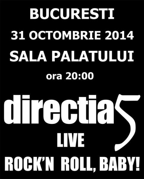 directia 5 sala palatului 31 octombrie 2014