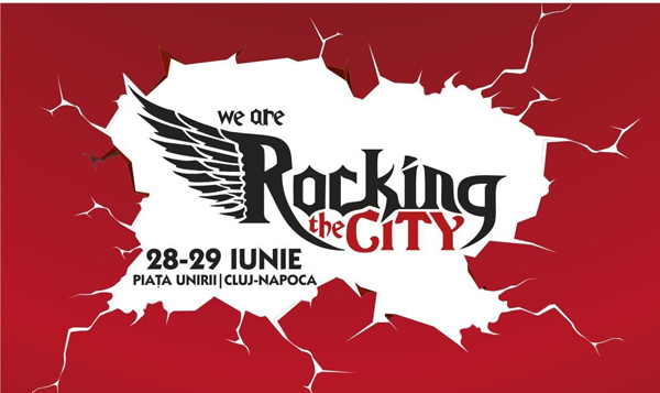 We Are Rocking The City la Piața Unirii din Cluj