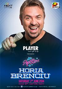 Horia Brenciu la Player Summer Club