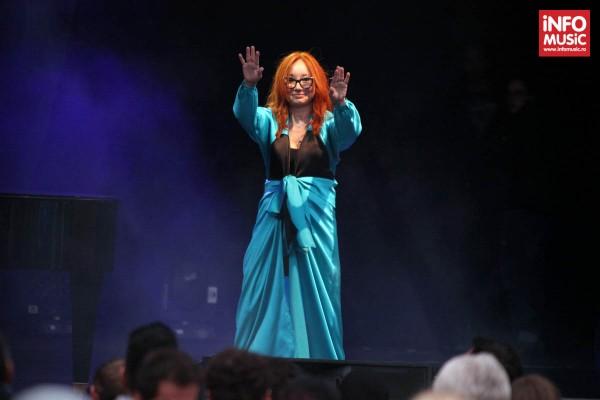 Tori Amos in concert la Arenele Romane, 19 iunie 2014.