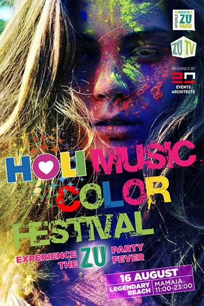 HOLI Music Color Festival MAMAIA 2014