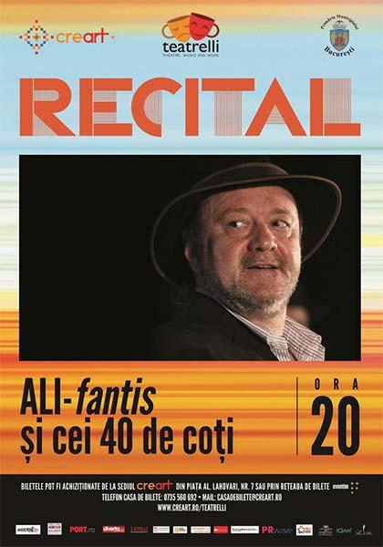 Recital Nicu Alifantis - ALI-fantis și cei 40 de coți