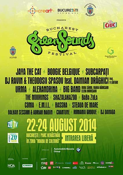 BUCHAREST GreenSounds FESTIVAL 2014