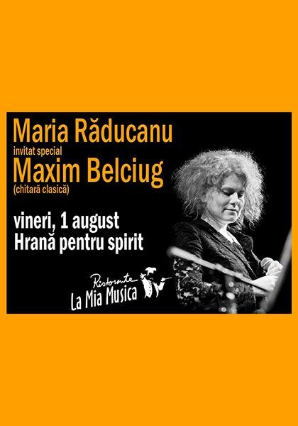 Maria Răducanu și Maxim Belciug