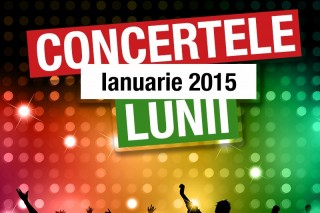 Concerte ianuarie 2015