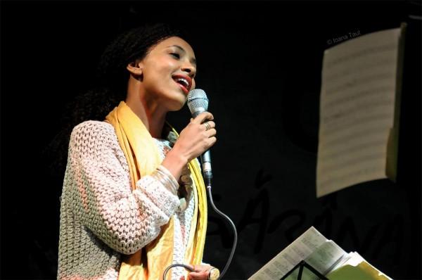 Esperanza Spalding la Festivalul de Jazz de la Gărâna (2014)