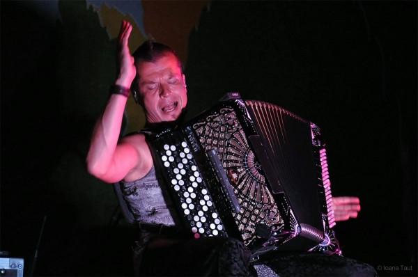 Finlandezul Kimmo Pohjonen la Festivalul de Jazz de la Gărâna (2014)