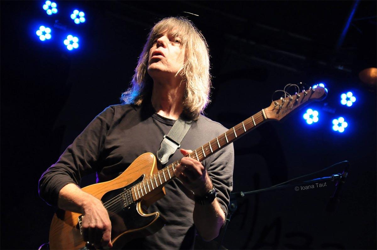 Mike Stern la Festivalul de Jazz de la Gărâna (2014)