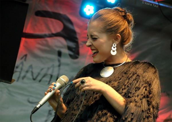 Elena Mîndru la Festivalul de Jazz de l aGărâna (2014)