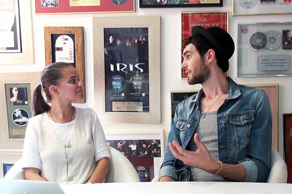 Mihail intervievat de Lavinia Fusu pentru InfoMusic.ro