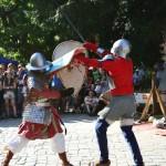 Lupte la Festivalul Sighișoara Medievală
