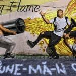 """Sonny Flame promovându-și single-ul """"Pune-mă-n cap"""""""