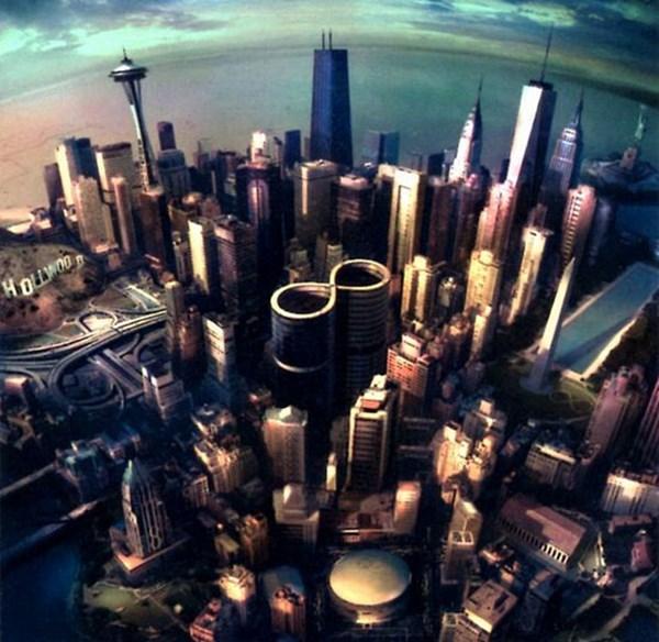 Coperta noului album Foo Fighters